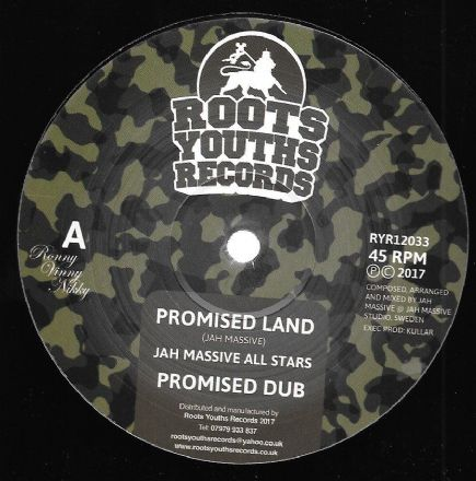 Jah Massive All Stars - Promised Land / Dub / Return To Jah / Dub (Roots Youths) 12""